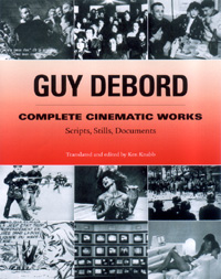 Cover: Debord filmscripts